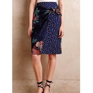 Anthropologie Maeve Floral Skirt